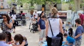 Sant Cugat del Vallès - Taller Juguem amb  energia i punt informació (Juny 2013)