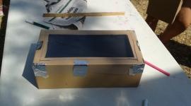 Sant Fruitós de Bages - Construcció escalfador solar (juny 2013)