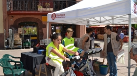 Taller Granissats a pedals a Pallejà