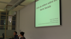 Taller sobre horts socials (1a sessió)