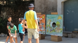 Santa Margarida i els Monjos - Taller Juguem amb energia (5 juliol 2013)