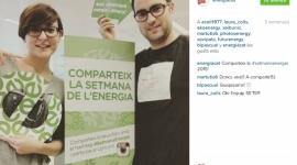 Comparteix la #SetmanaEnergia amb el companys de l'ICAEN (via Instagram #setmanaenergia)