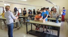 Institut Guillem Catà (Manresa) guanyadors del premi a la major participació al 1r Concurs de Cobertes de l'Agenda Escolar (Juny 2013)